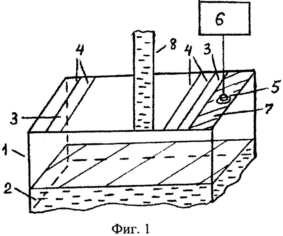 Устройство для измерения уровня вещества в открытой металлической емкости