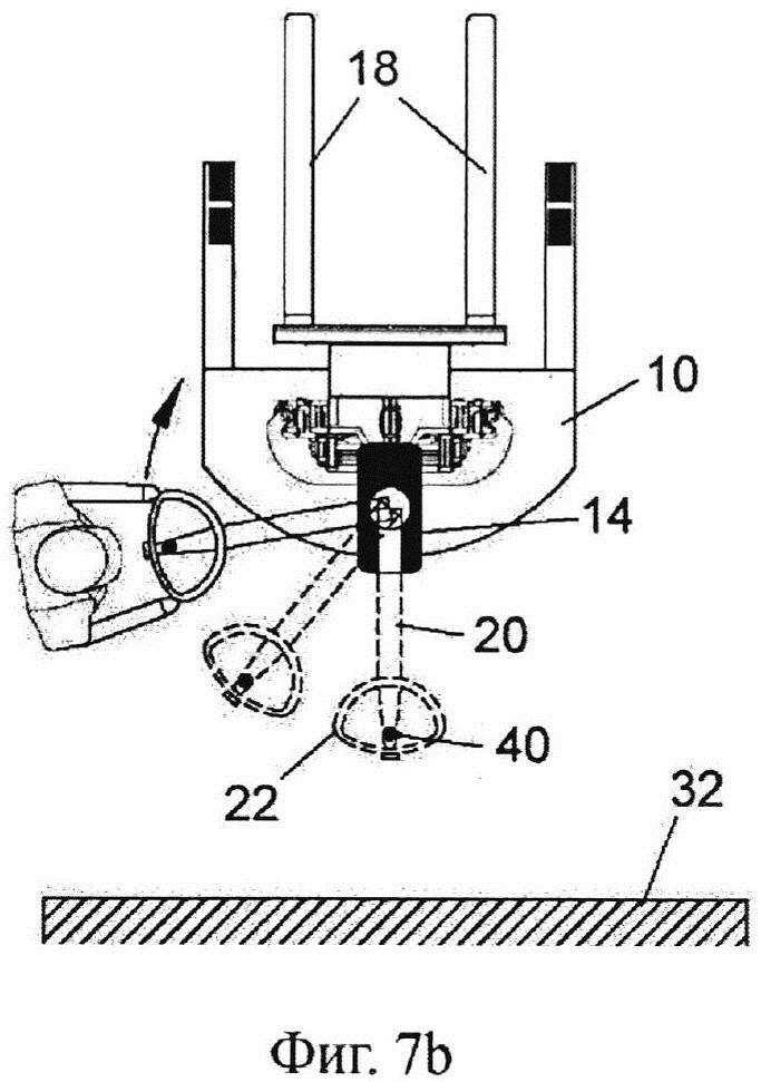 Моторизированный погрузчик с рычагом