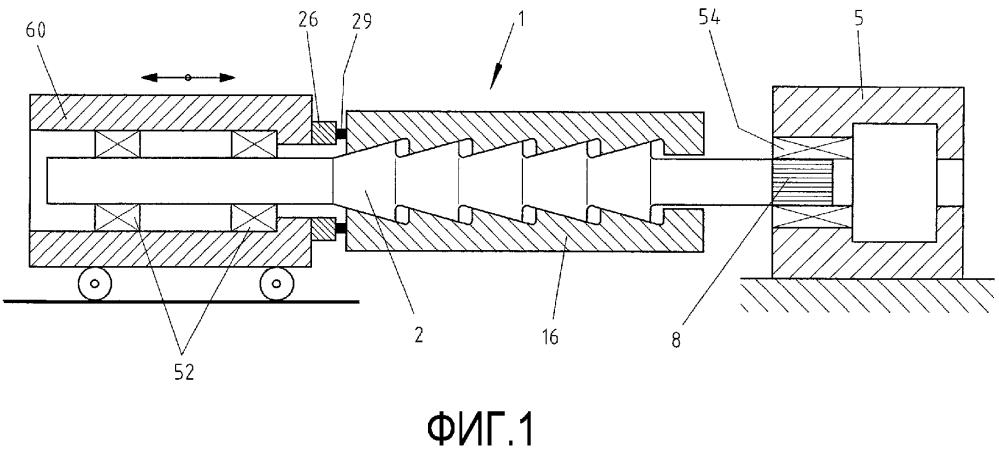 Устройство для наматывания полосового материала в рулон