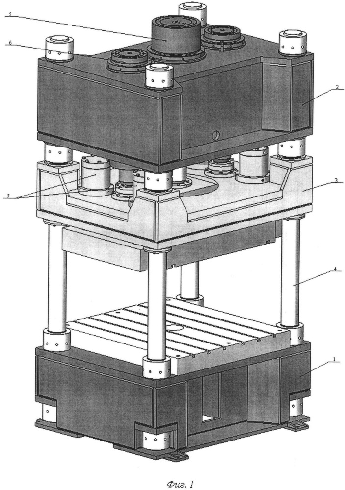 Пресс для глубокой вытяжки листовых деталей