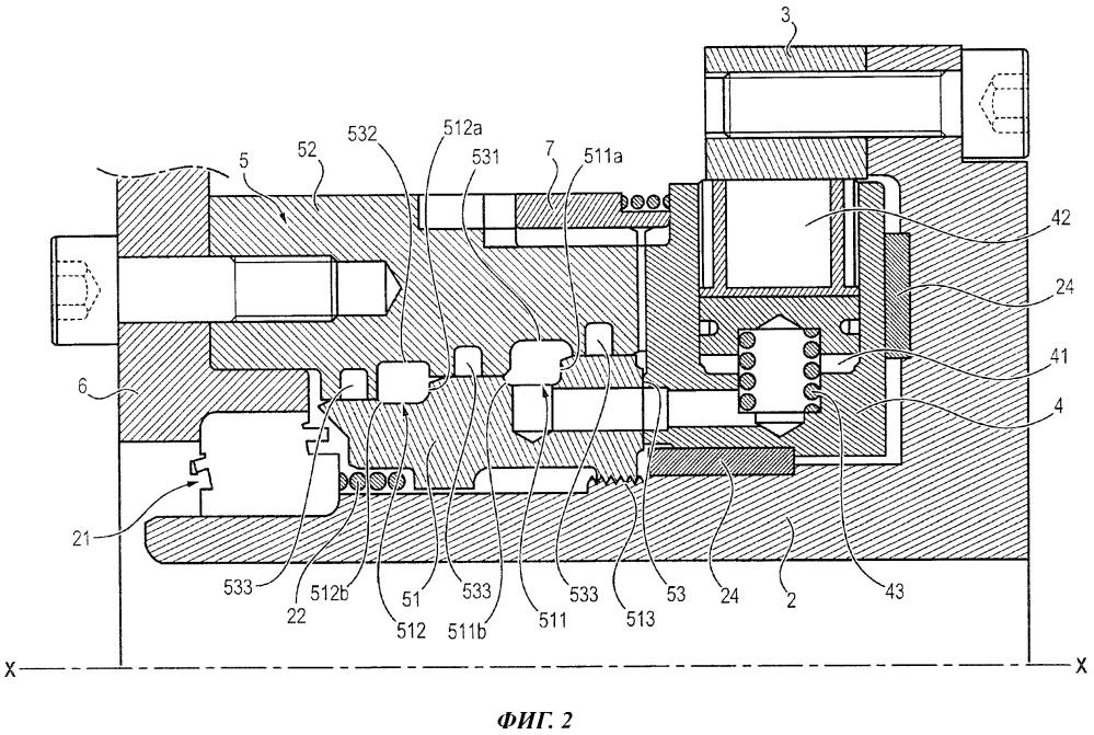 Гидравлическое устройство, обладающее улучшенной конструкцией в отношении его перевода в рабочий режим