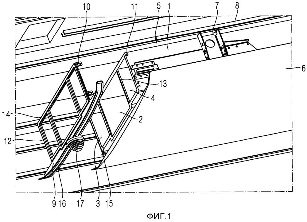 Рельсовое транспортное средство с каналом для кондиционированного воздуха в крышевой зоне и способ монтажа крышевой зоны рельсового транспортного средства