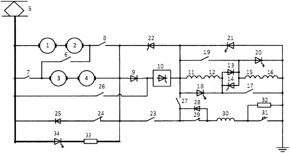 Устройство регулирования скорости электроподвижного состава
