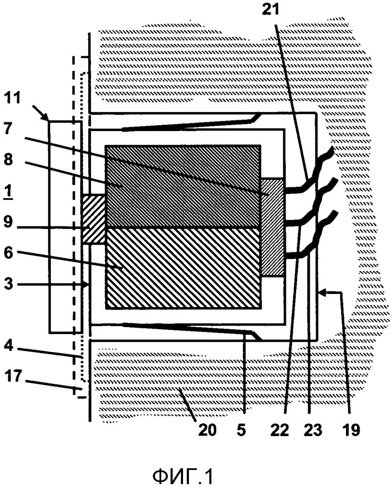 Электрический установочный прибор скрытой проводки с возможностями wlan