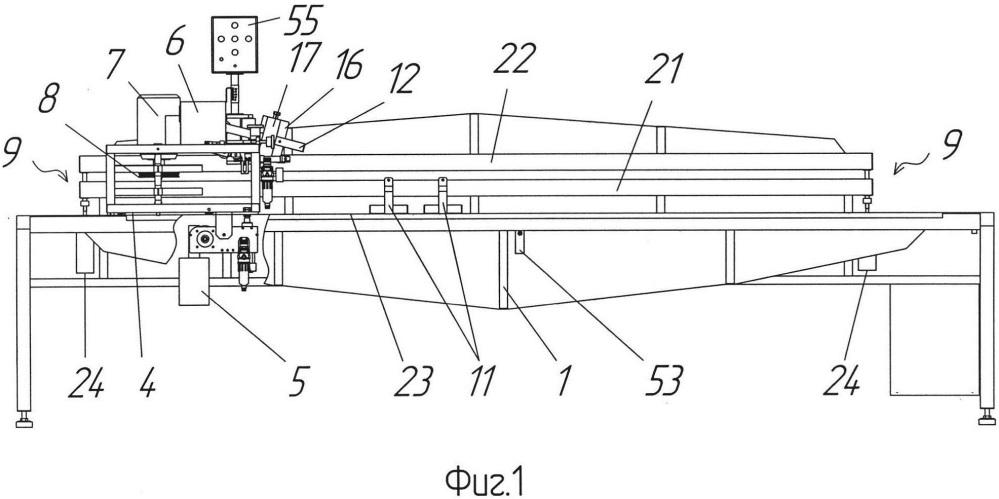 Станок для обработки кромок плоских изделий