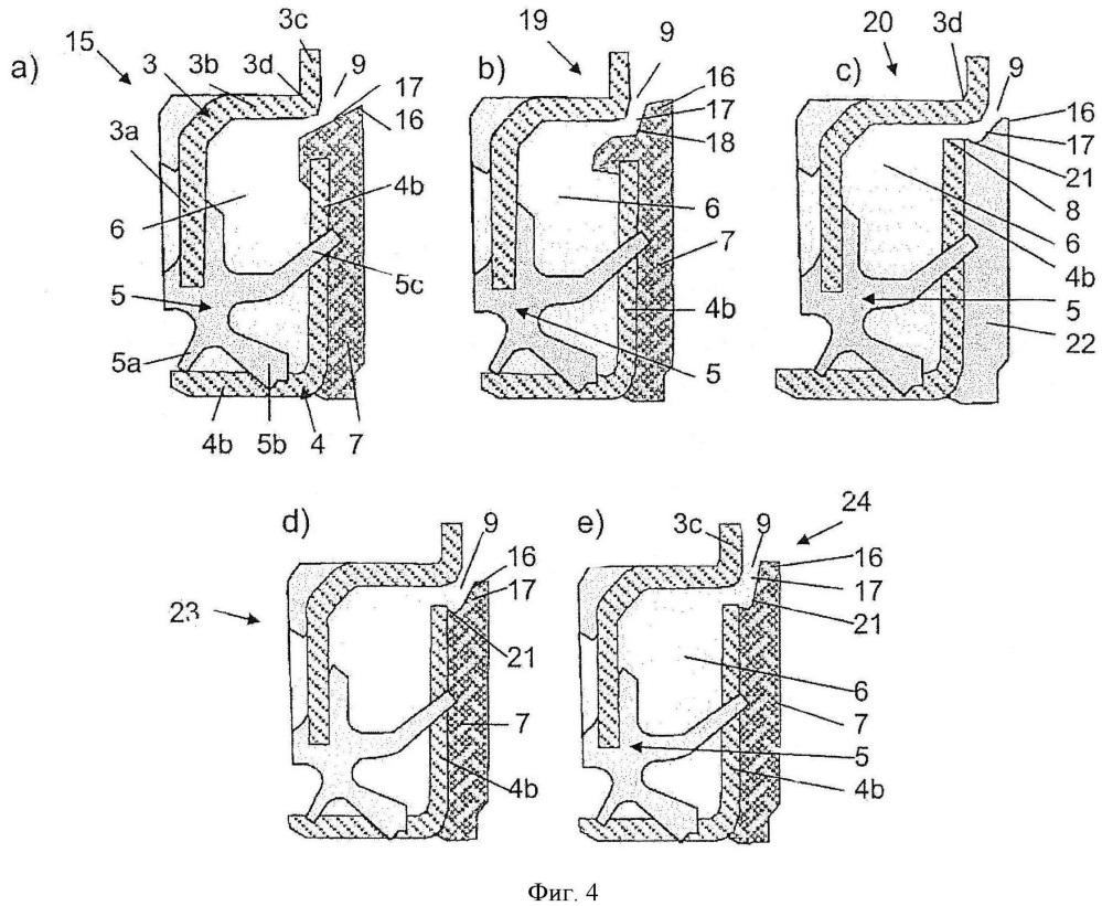 Кассетное уплотнение, в частности, для компоновки подшипника колеса грузового автомобиля