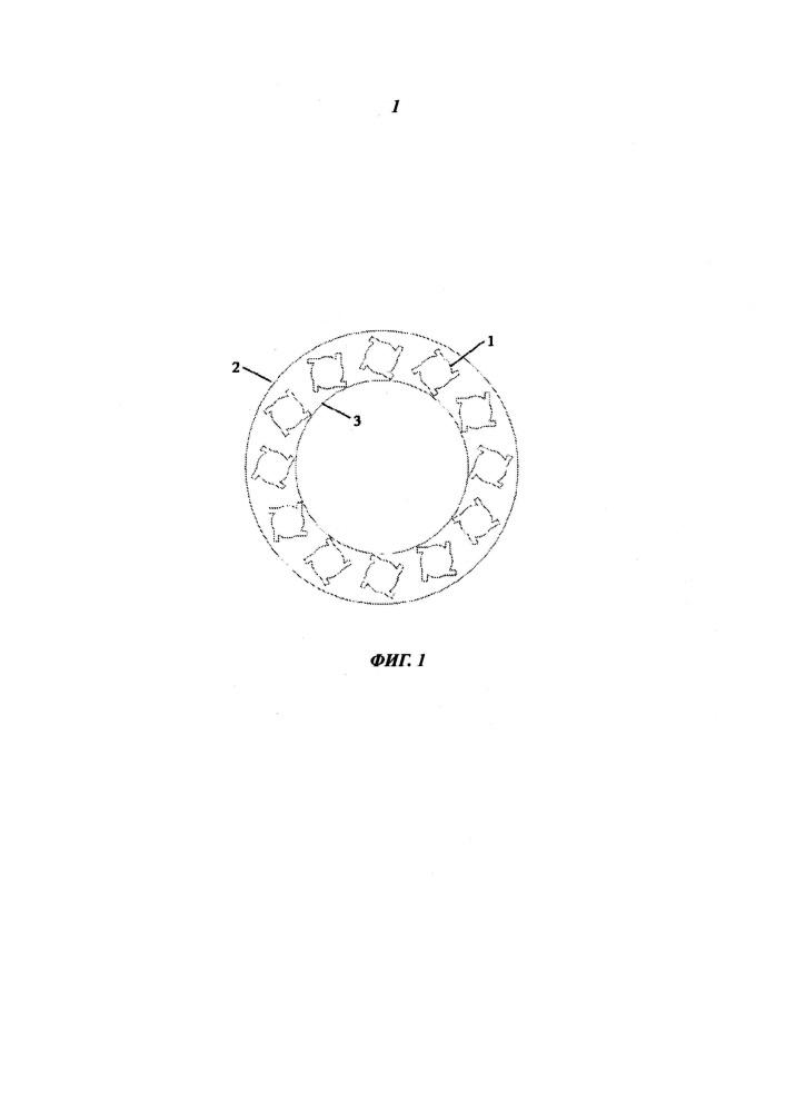 Способ смешивания вступающих в реакцию горения веществ для камеры сгорания газотурбинного двигателя