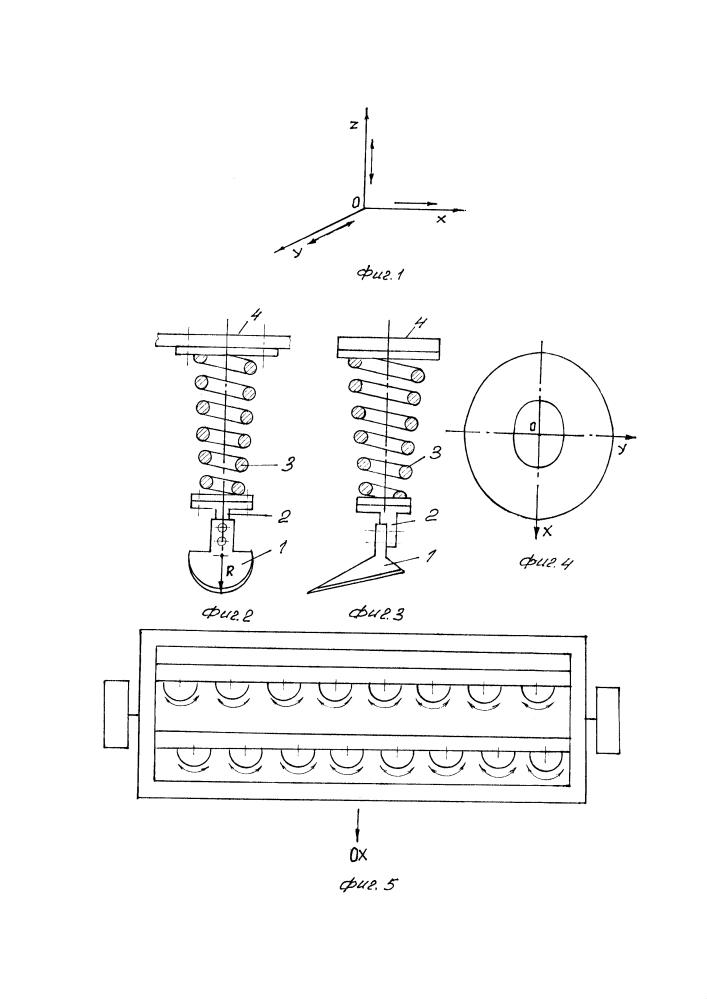 Колебательный рабочий орган культиватора для сплошной обработки почвы