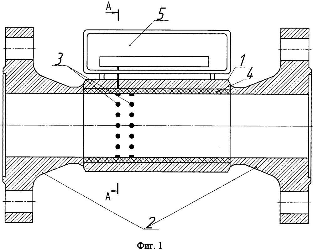 Способ и устройство для определения режима течения водогазовой смеси