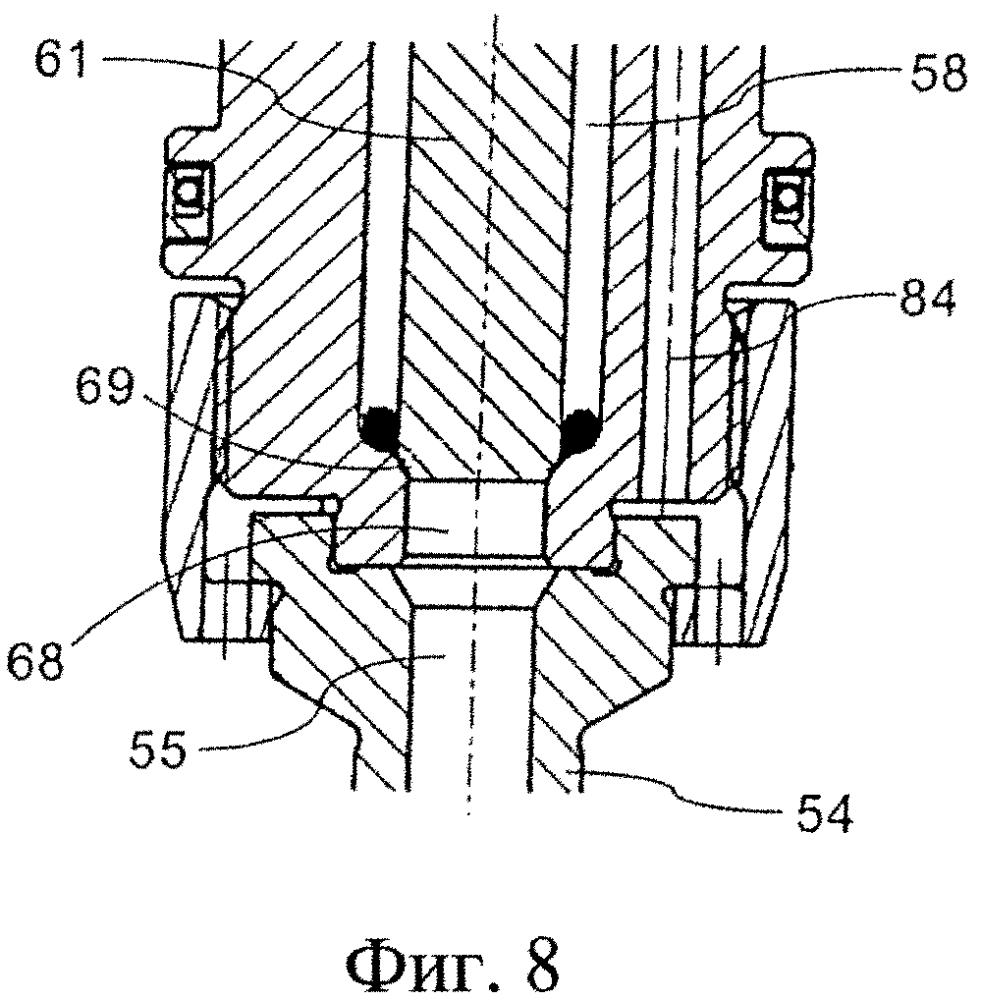 Топливный клапан для впрыска газообразного топлива в камеру сгорания двигателя внутреннего сгорания с самовоспламенением и способ