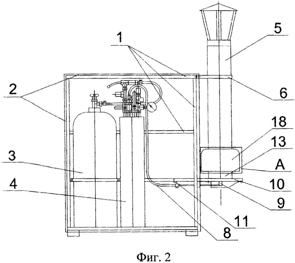Установка для генерирования аэрозоля