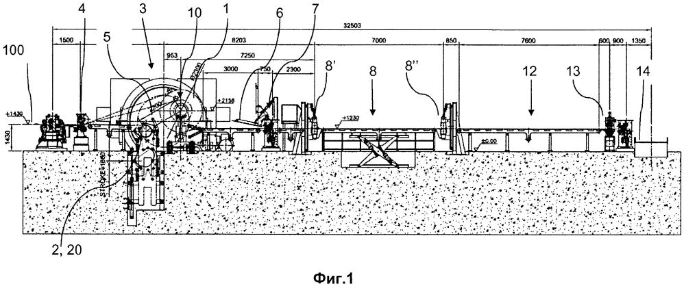 Способ и устройство для намотки металлической полосы с выявлением дефектов в линии непрерывной прокатки