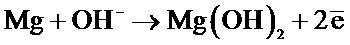 Способ получения защитного покрытия на магнии и его сплавах