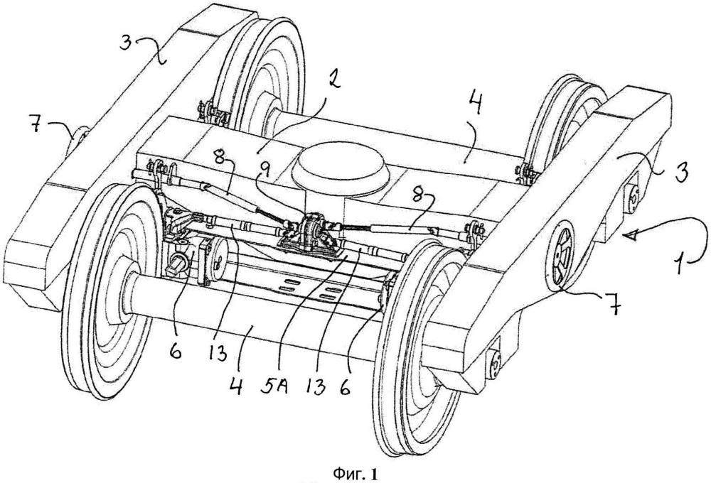 Стояночное тормозное устройство для тормозного механизма тележки рельсового транспортного средства