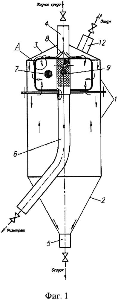 Устройство для очистки жидких сред от механических примесей