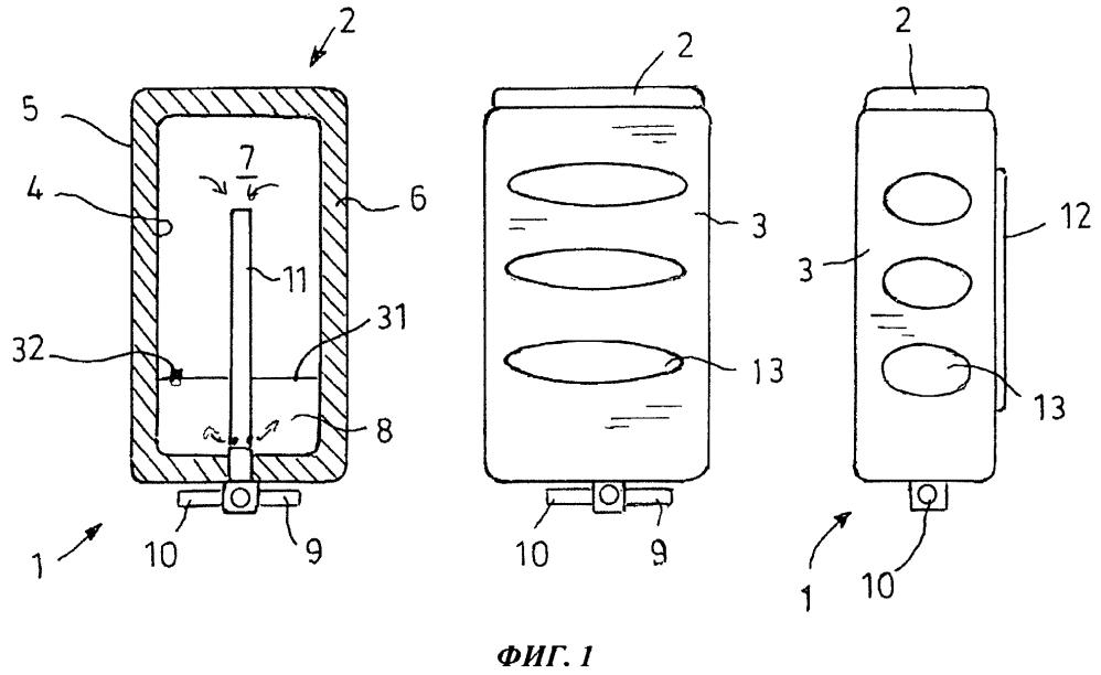 Аккумулятор тепла для хладагента двигателя транспортного средства