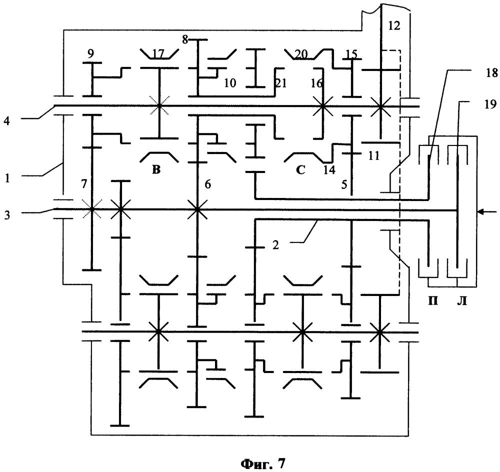 Коробка передач с двумя сцеплениями
