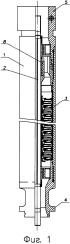 Установка погружного лопастного насоса компрессионного типа