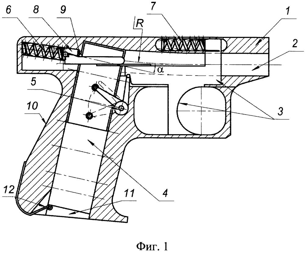Пистолет с ленточной подачей патронов