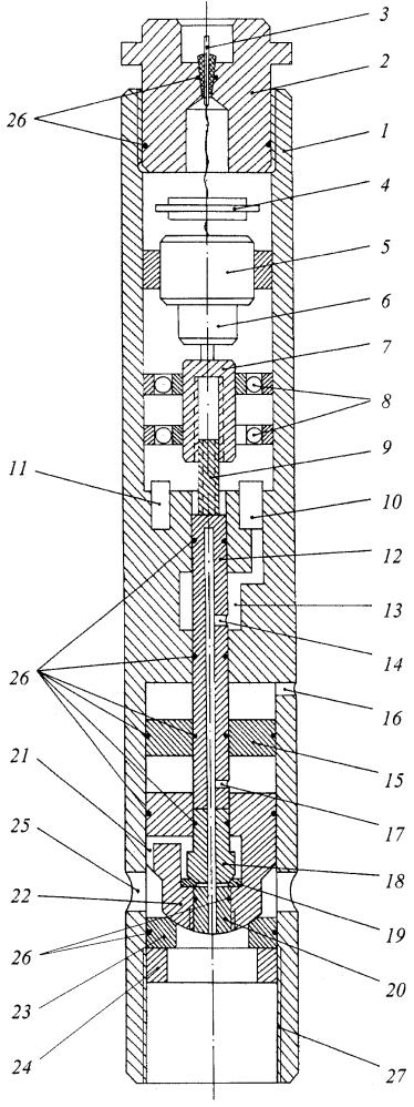 Скважинный управляемый электромеханический клапан
