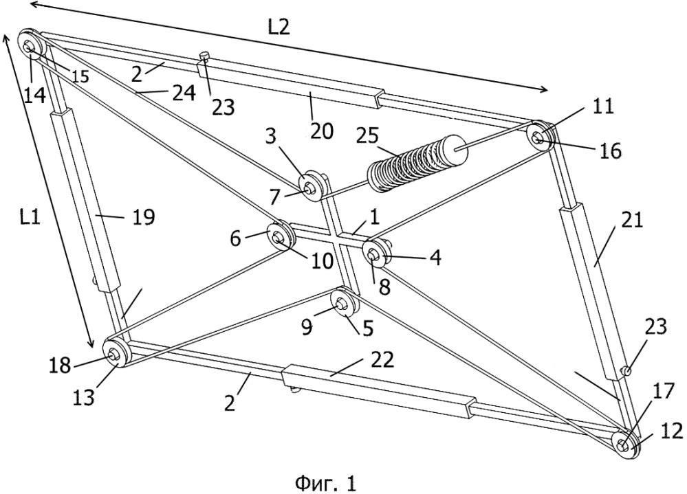 Самоцентрирующаяся система с изменяемой геометрией внешнего основания.