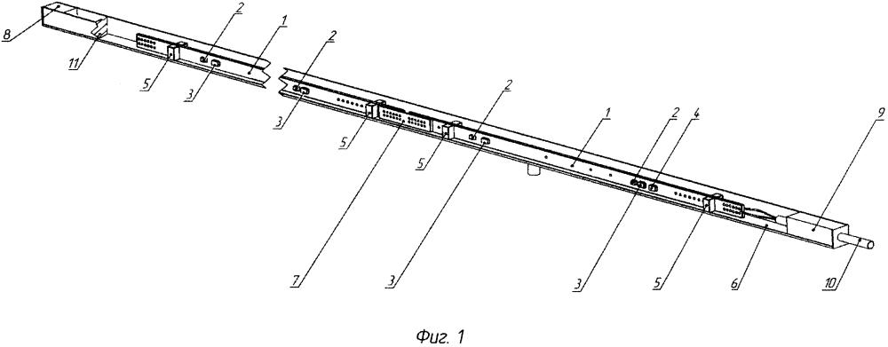 Многоэлементный антенный линейный дискретный цифровой модуль