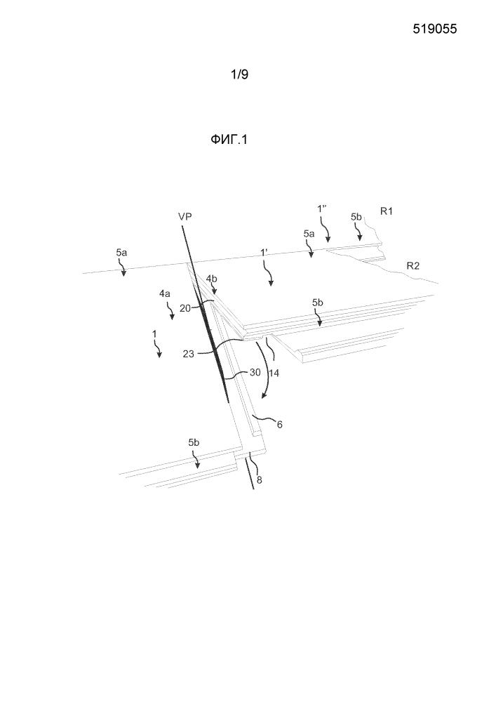 Способ изготовления механической замковой системы для строительных панелей