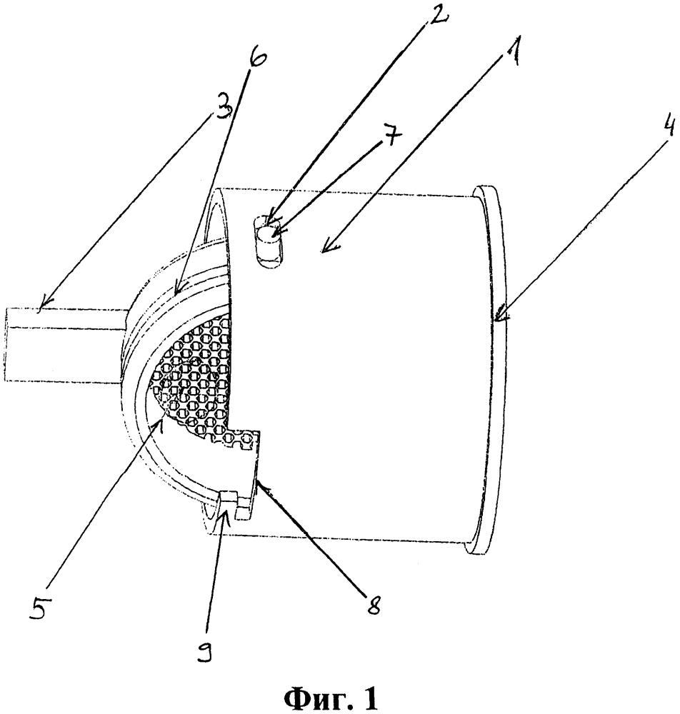 Вставка с поворотной сеткой и поворотная сетка для аэраторов в сантехнических батареях