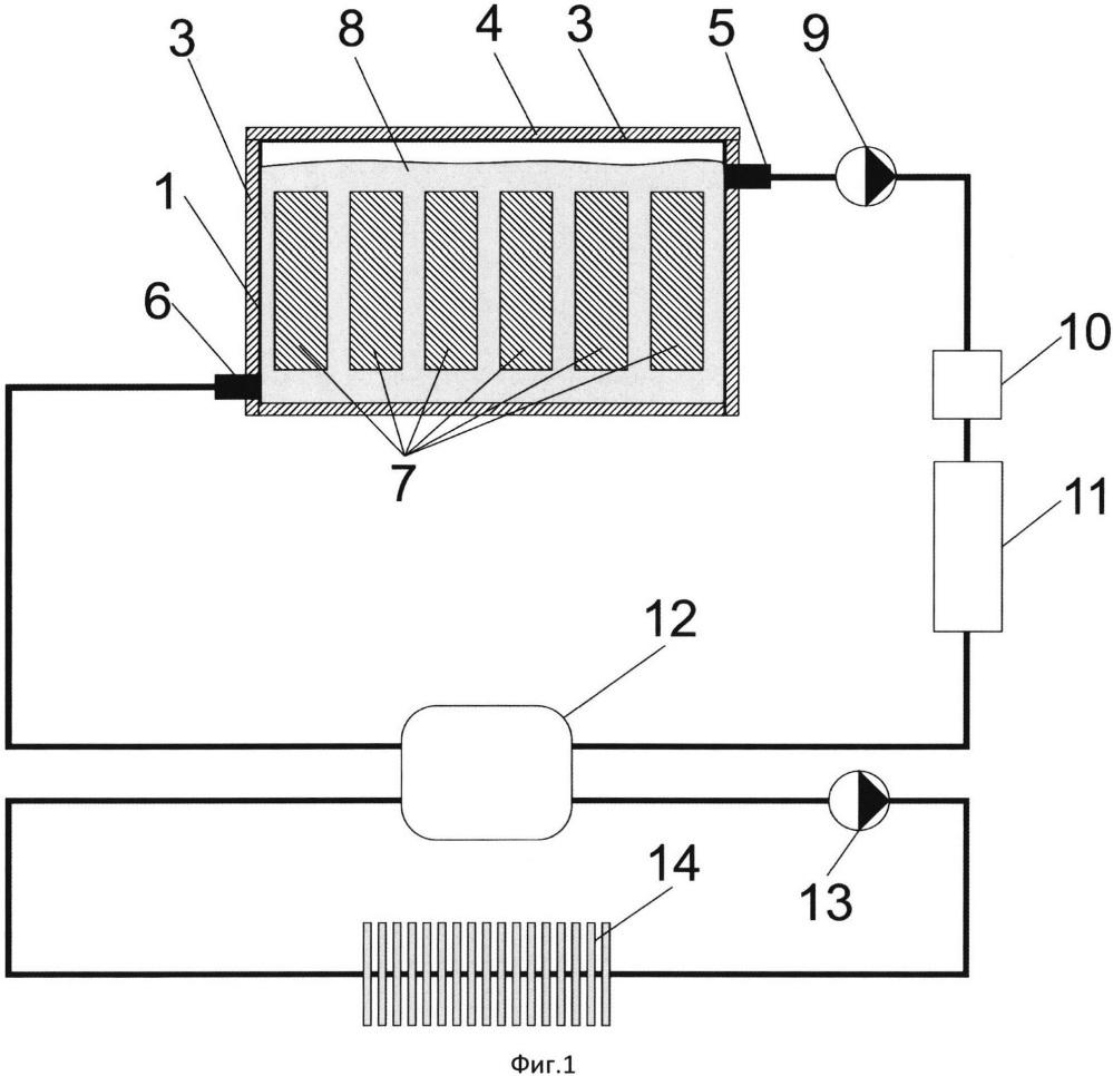 Модульная погружная система охлаждения