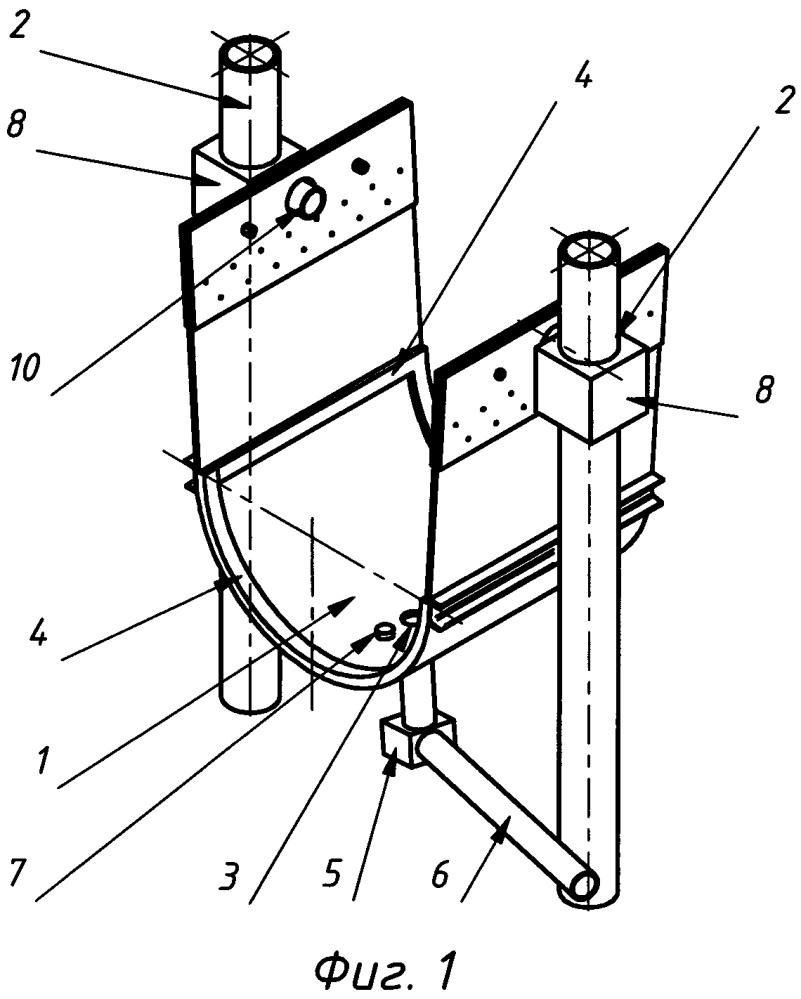 Устройство для перемещения длинномерного объекта на воздушной подушке