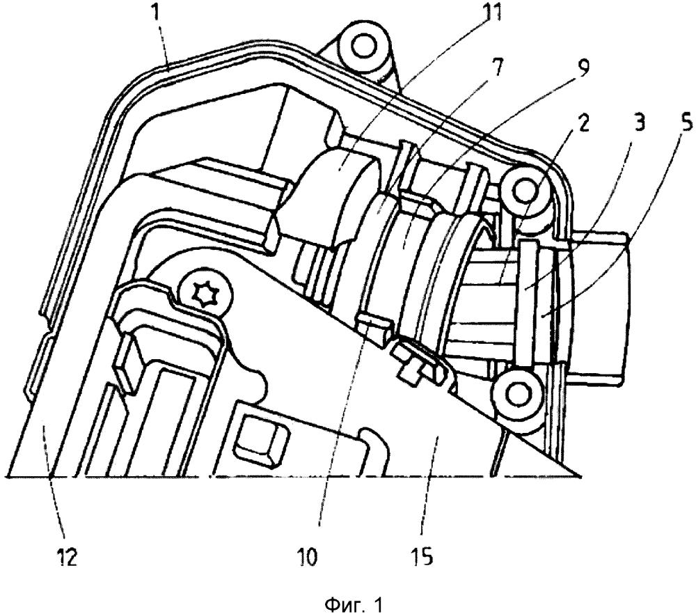 Модуль внешнего запирания для замка