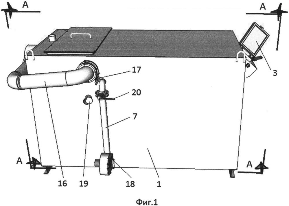 Пиролизный котел с верхним, послойным сжиганием топлива