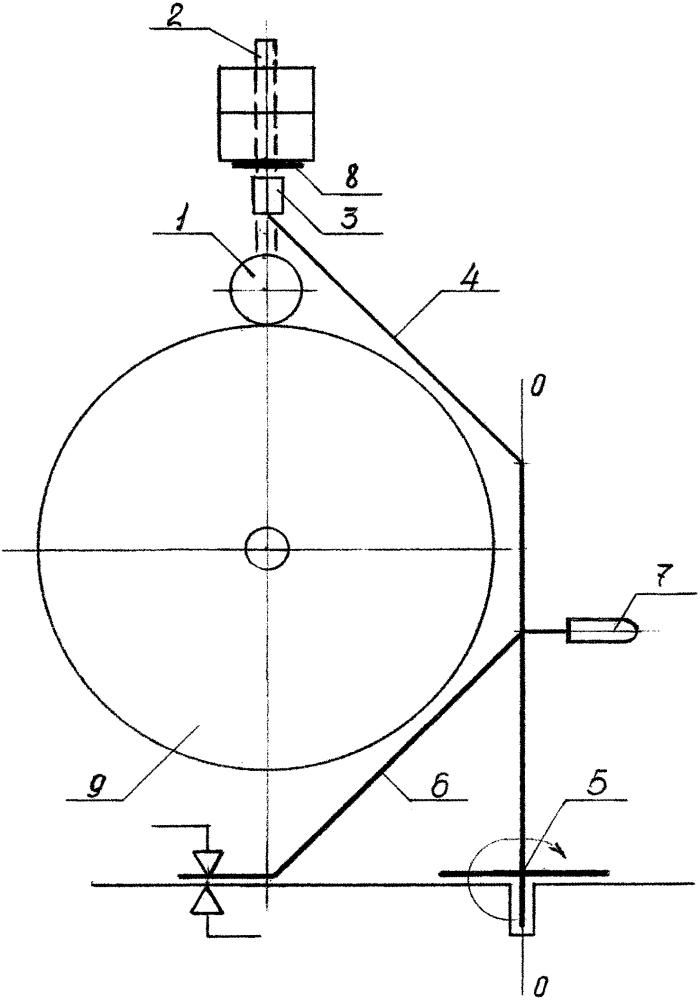 Устройство продольной резки рулонной бумаги