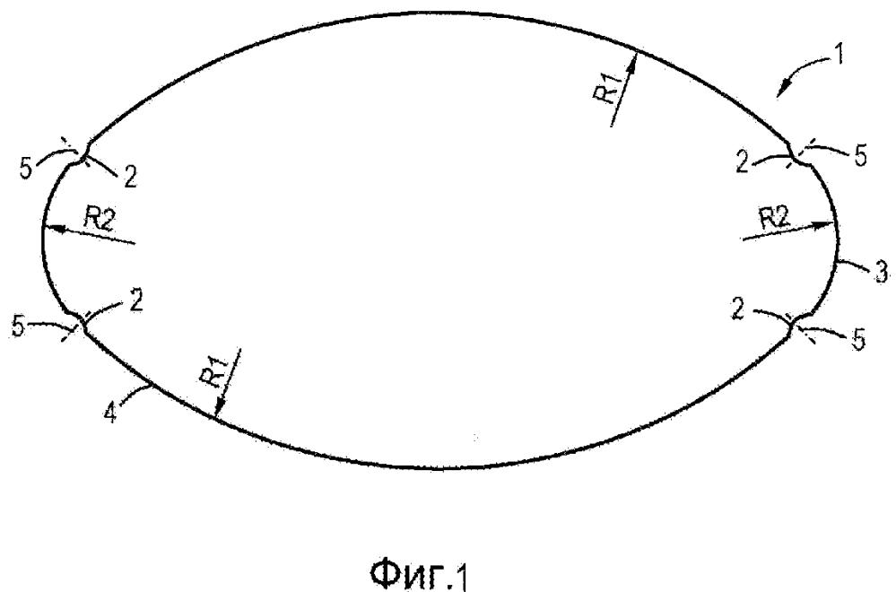 Концевая панель и корпус контейнера или контейнер, обеспеченный посредством двойного фальцевого шва такой концевой панелью