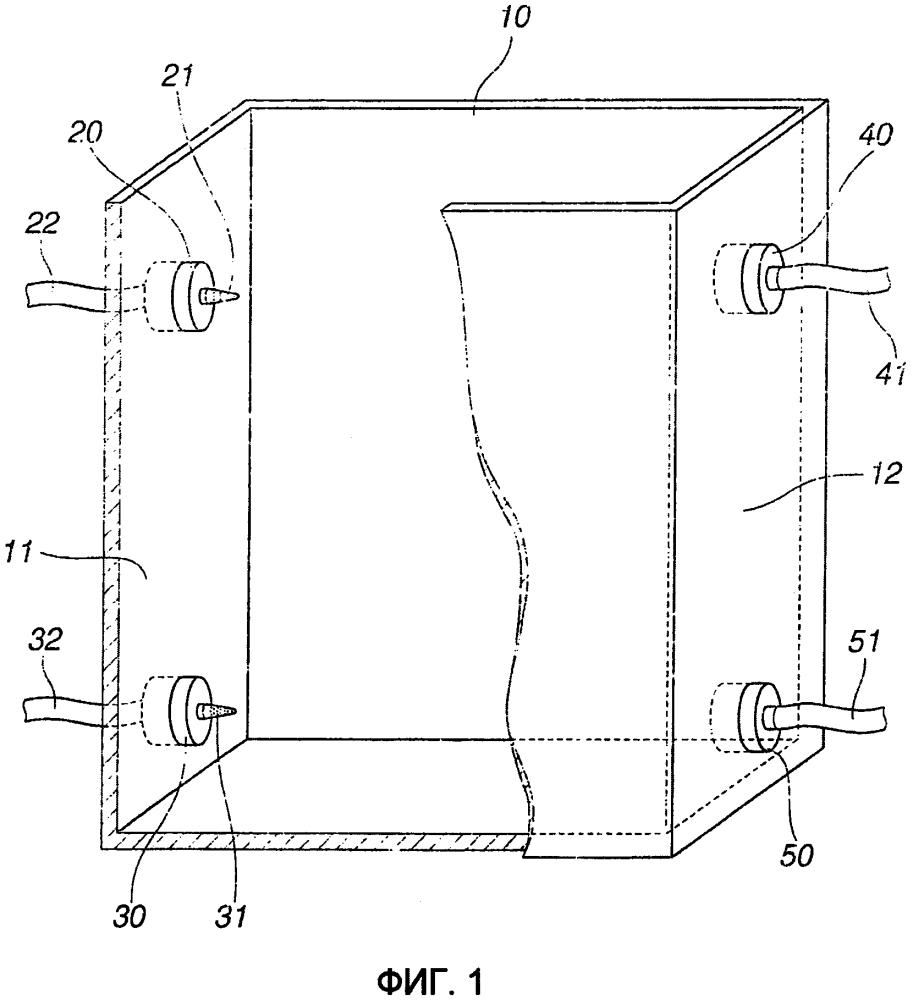 Блок экстракциижидкость-жидкость, устройство многоступенчатой экстракции  жидкость-жидкость, в котором используется этот блок, и система многоступенчатой непрерывной экстракции для редкоземельных элементов