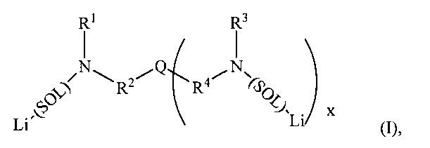 Стабилизированные многовалентные инициаторы анионной полимеризации и способы получения указанных инициаторов
