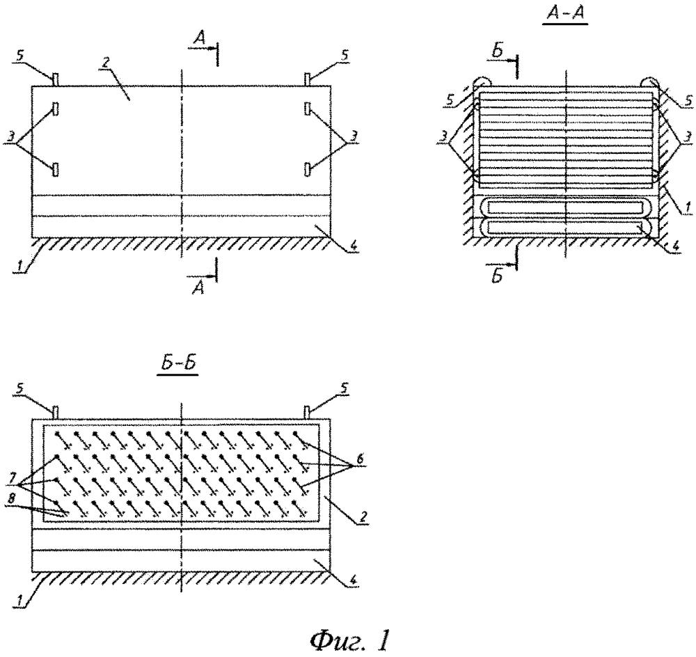 Модульное устройство тонкослойной очистки воды от взвешенных частиц типа жалюзи