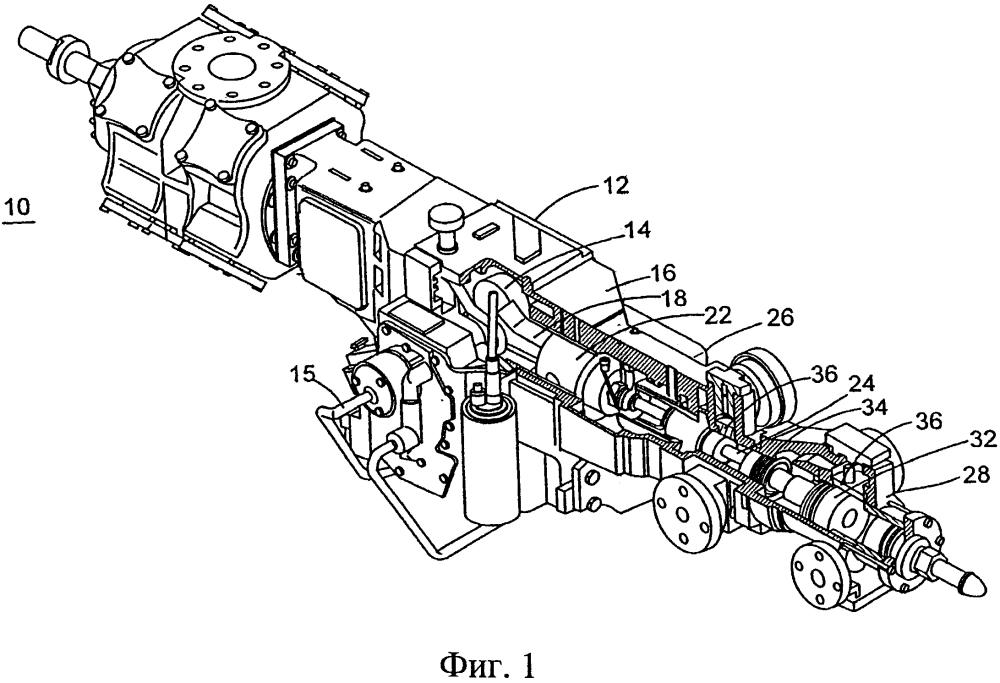 Поршневой компрессор, герметичное при повышенном давлении уплотнение и способ
