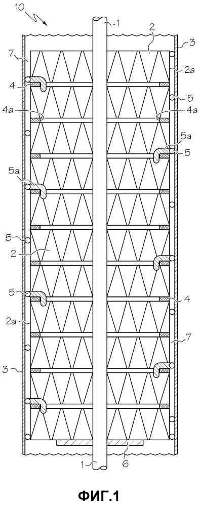 Проволочные проставки для наращиваемых структурных реакторов