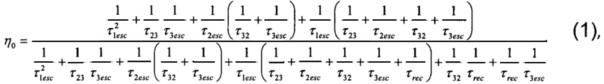 Способ определения степени влияния дефектообразования на рекомбинационное время жизни носителей в полупроводниковых квантовых точках на основе гетероперехода первого рода
