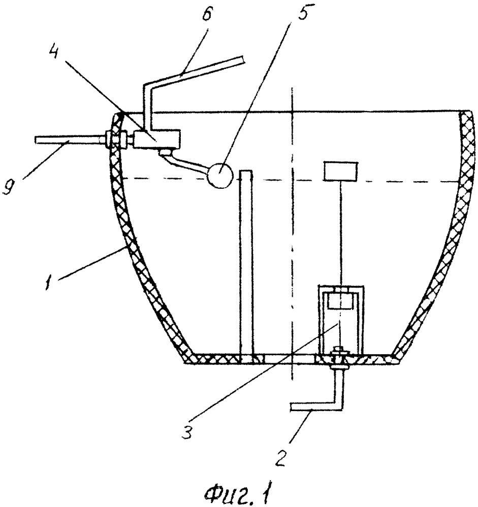 Общественный туалет с играющим фонтаном и способ его эксплуатации