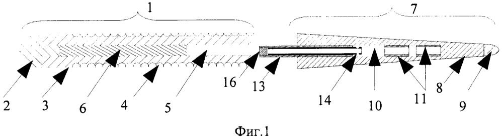 Однокомпонентный управляемый фаллоэндопротез