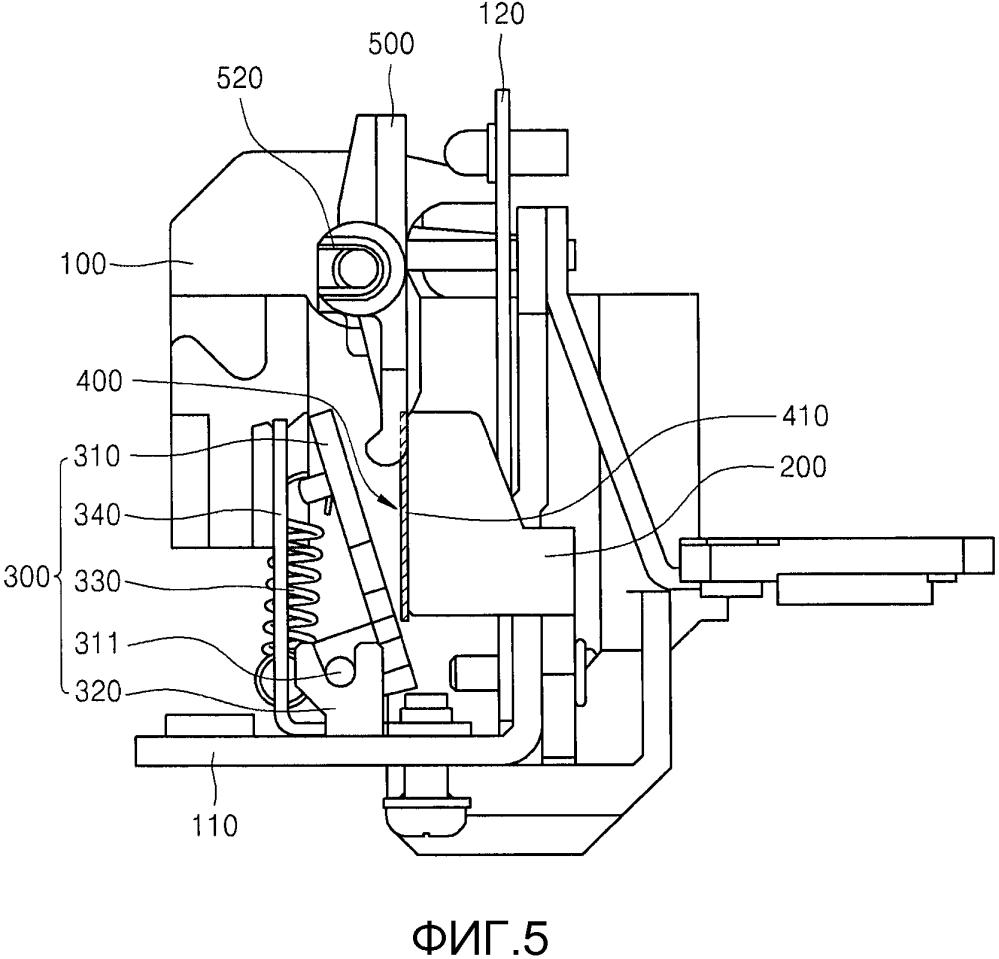 Устройство мгновенного отключения выключателя в литом корпусе