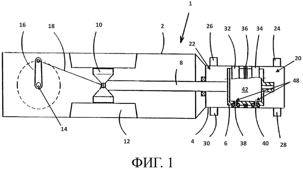 Горизонтальный поршневой компрессор