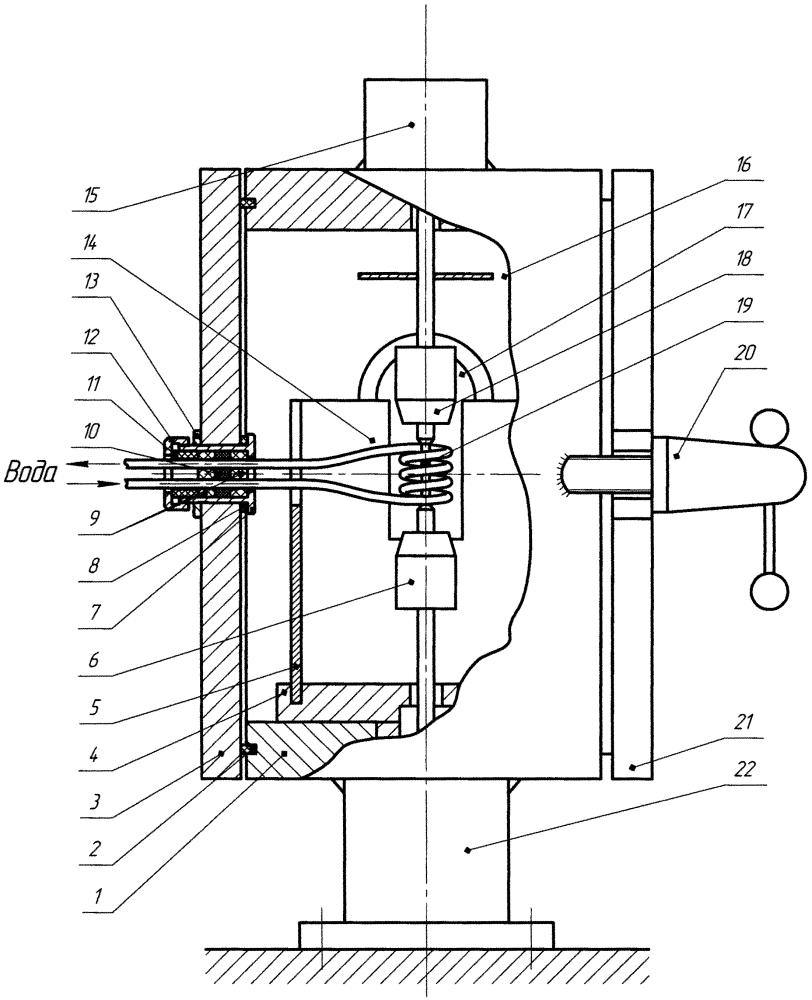 Высокотемпературная установка для испытаний механических свойств токопроводящих материалов