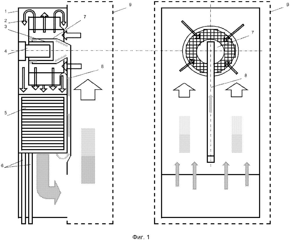 Воздушно-водяной теплообменник