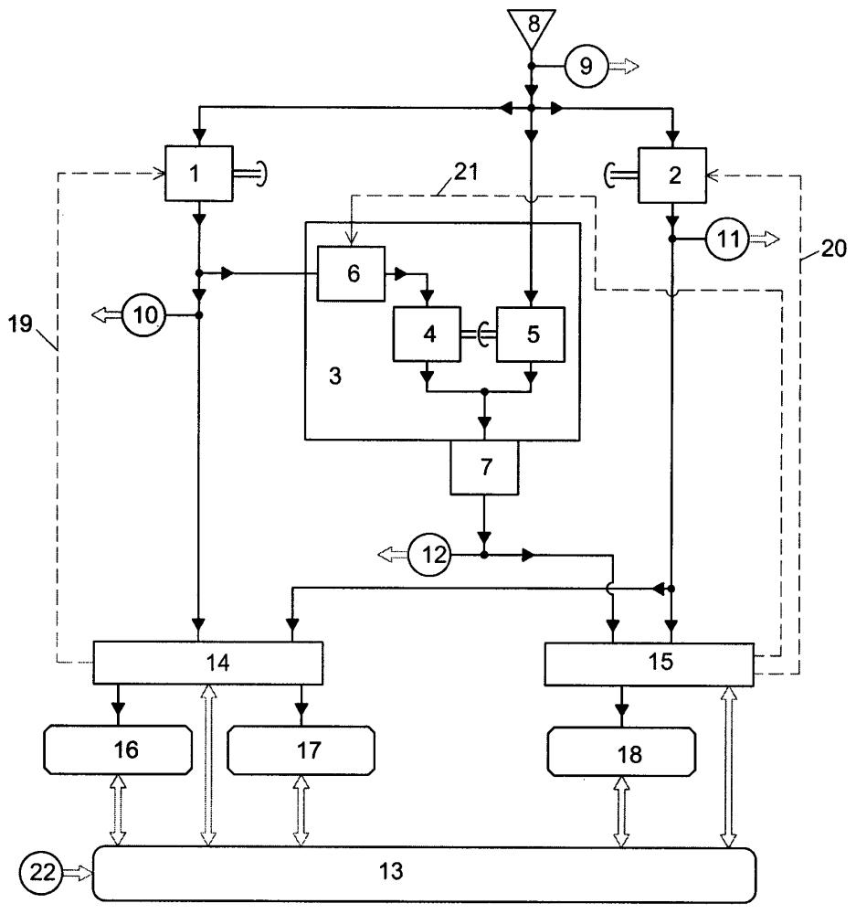 Система топливопитания газотурбинного двигателя