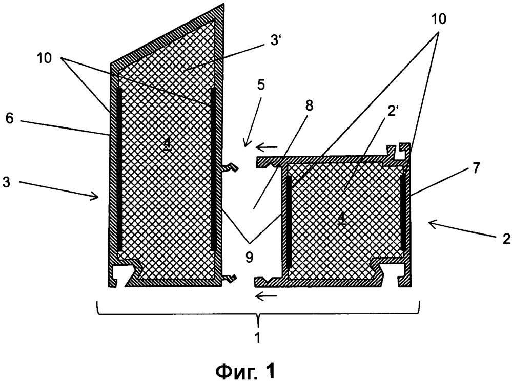 Способ изготовления полого камерного профиля