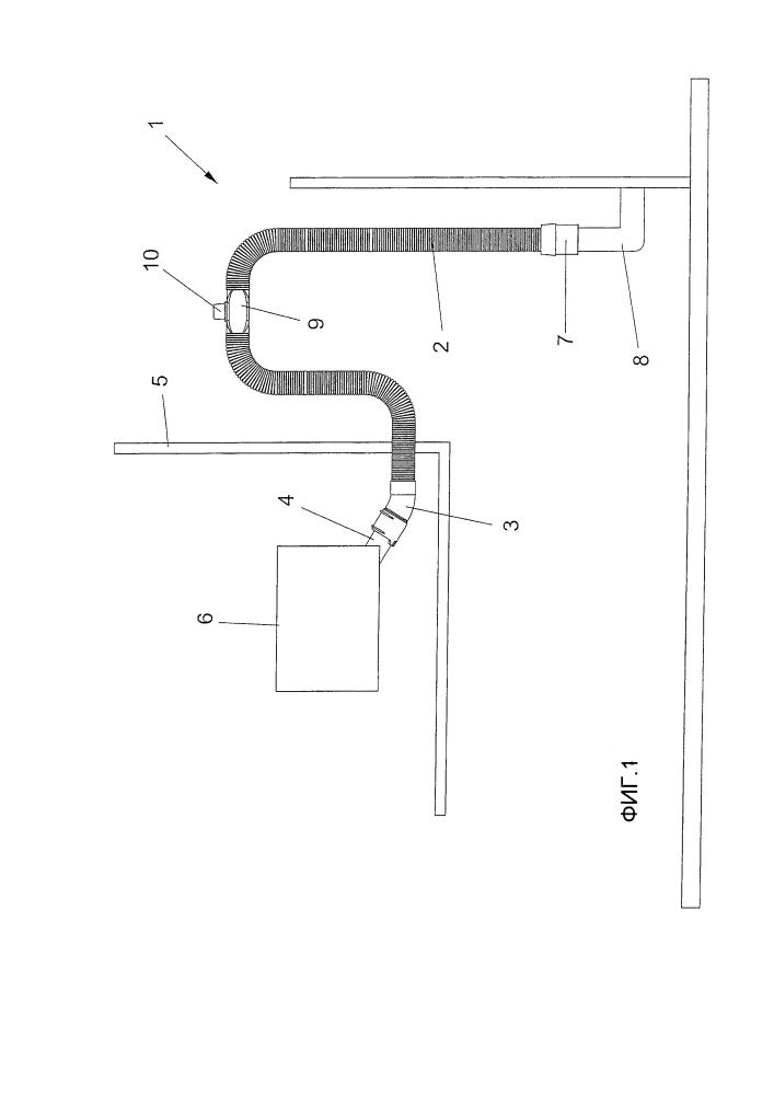 Сливной трубопровод для посудомоечных и стиральных машин