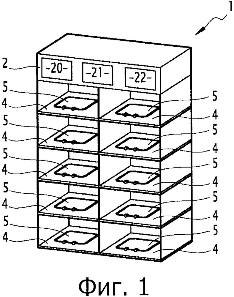 Способ оценки годности контейнера и соответствующая камера хранения